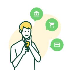 銀行・カード連携で複数箇所の明細をまとめて管理